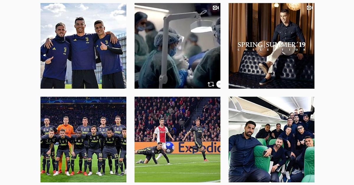 Cristiano Ronaldo es el famoso con más seguidores en Instagram 1