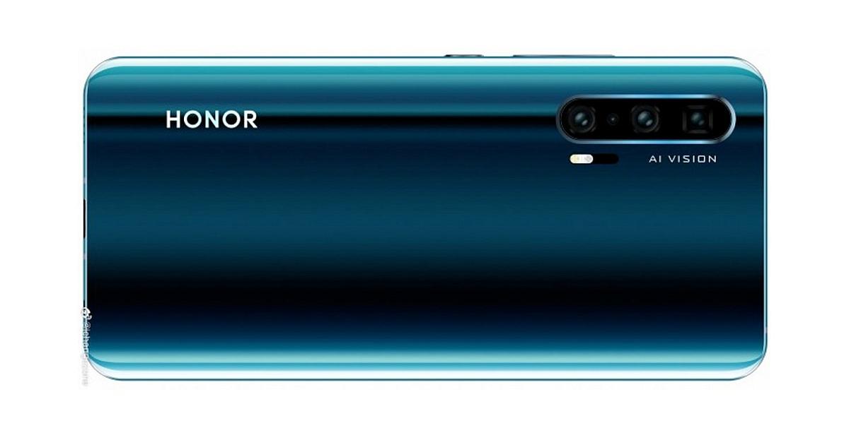 Honor 20 Pro: Se ha filtrado lo que podría ser su parte trasera 1