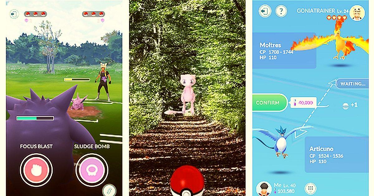 Descarga Pokemon GO y gana los Legendarios Zapdos, Moltres y Articuno 1