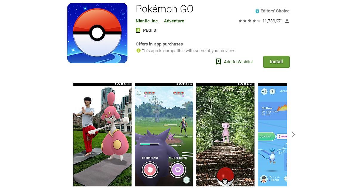Descarga Pokemon GO y gana los Legendarios Zapdos, Moltres y Articuno 2