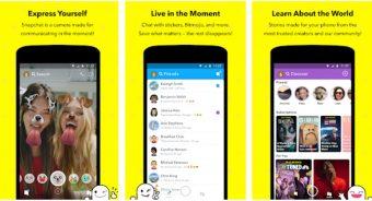 Descarga Snapchat y comparte Fotos en segundos 2