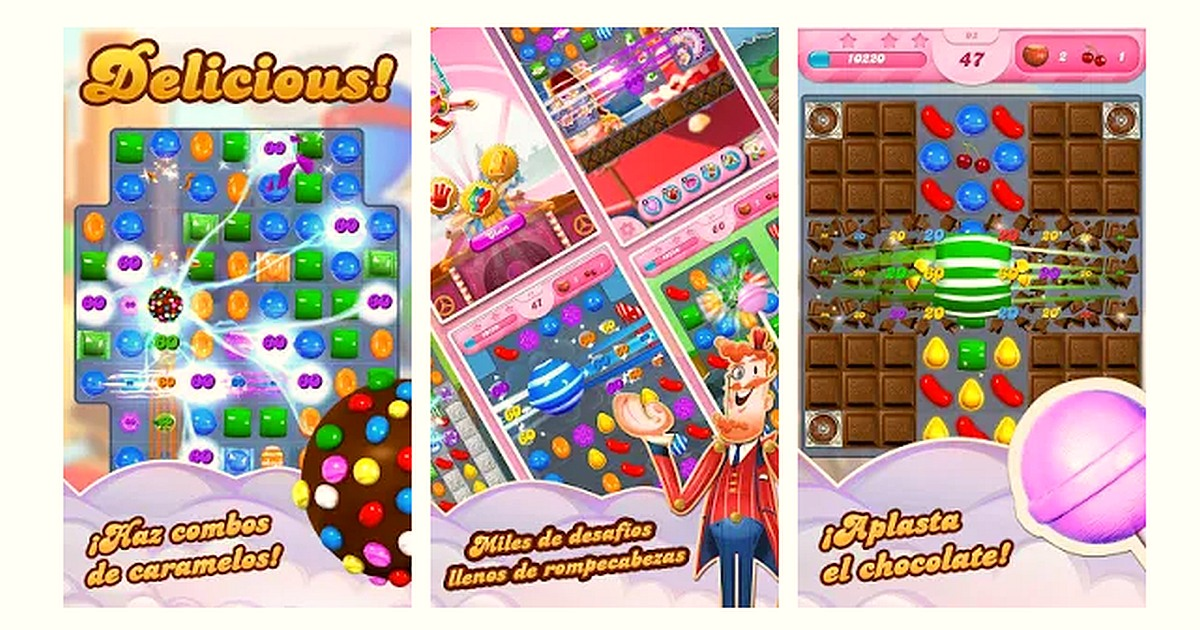 Descargar Candy Crush Saga Apk 1