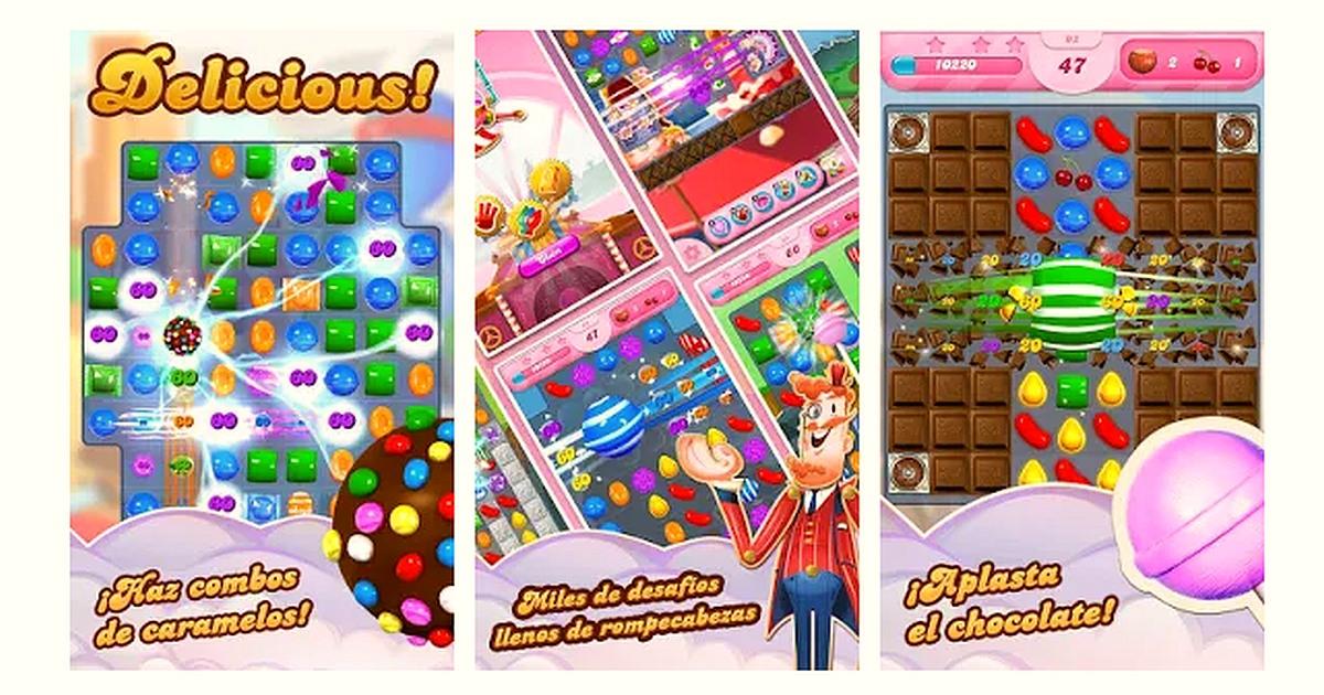 Descargar Candy Crush Saga Apk