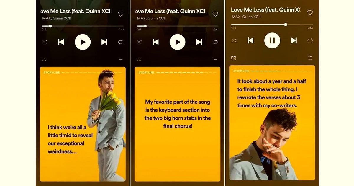 ¿Conoces los Stories de Spotify? Prueba Spotify Storyline