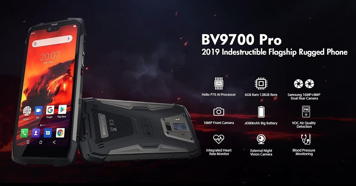Blackview BV9700 Pro: el Android Indestructible